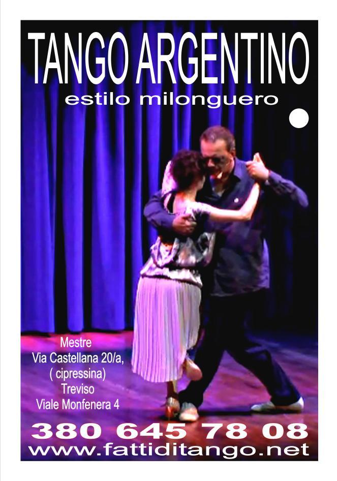 tango argentino estilo milonguero